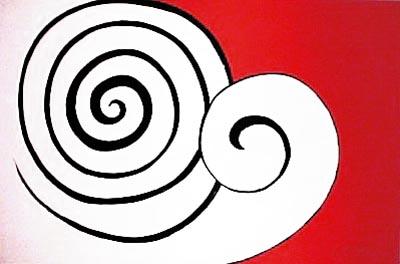 art contemporain - Page 2 Calder_deux_spirales