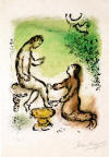 Chagall Ulysses and Euryclea M.811