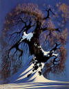 eyvind earle winter bonsai