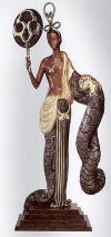 erte sculpture bamboo