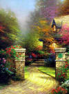 Kinkade The Rose Gate