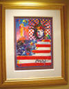 peter max god bless america