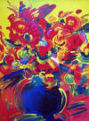 peter max red flowers