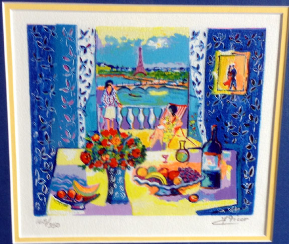 Jean claude picot limited editions and originals for Fenetre ouverte