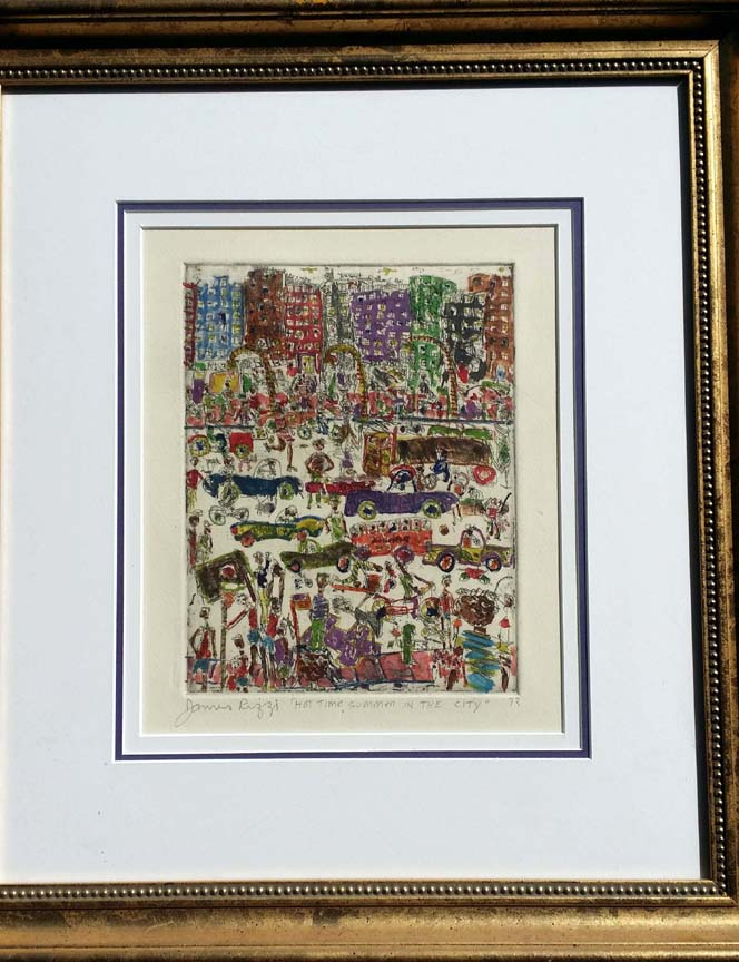 James Rizzi Limited Editions and Originals